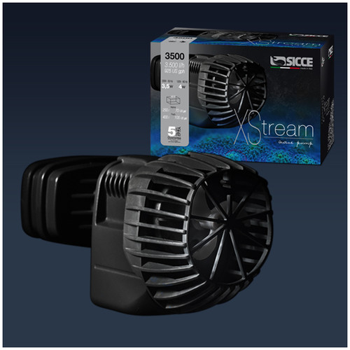Sicce Xstream 1720 Wave Pump Powerhead Current Stream & Wave Pump