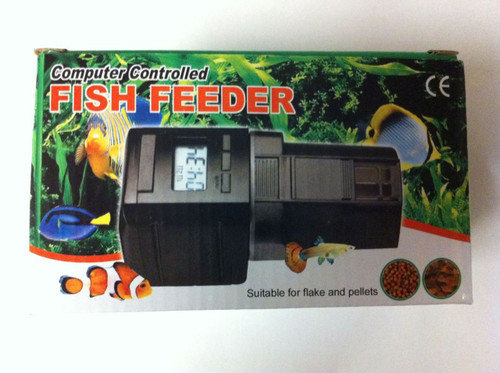 Aquarium Computer Controlled Fish Feeder