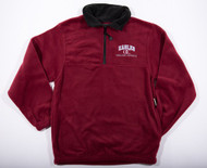 Eagles Burgundy Fleece 1/4 Zip Sweatshirt