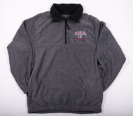 Eagles Gray Fleece 1/4 Zip Sweatshirt