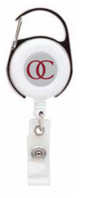Badge Reel with Key Clip