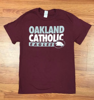 Oakland Catholic Burgundy T-Shirt