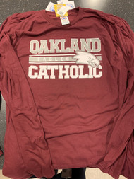 Burgundy Oakland Catholic Long Sleeve