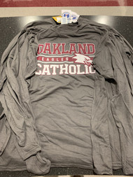 Charcoal Oakland Catholic Long Sleeve