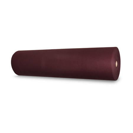 Tammark™ 1.2mm thick stiffened Polyester felt with a weight of 210 grams per meters squared is sold in 50 yard bolts.  Though it can be used for a variety of purposes, our felt is especially suited to the chenille embroidery industry for use in manufacturing varsity letters and other letterman jacket affinity awards.  It is dyed to match Tammark™ Maroon acrylic yarn, making us your one-stop shop when color consistency is important.