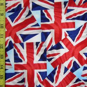 United Kingdom collage flag pattern