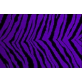 Purple with black tiger stripes