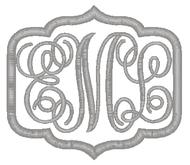 Script Frame 2 Monogram