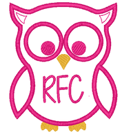 Owl Applique Monogram