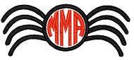 Spider Applique Monogram