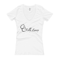 """Filly Finery"" Women's V-Neck T-shirt"