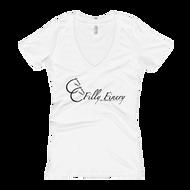 """Filly Finery"" Women's V-Neck T-shirt"
