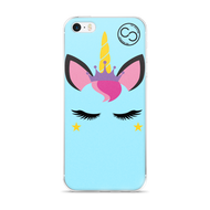 Unicorn Princess Baby Blue - iPhone Case
