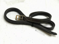 C&C Fancy Stitch Stirrup Leathers