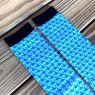 Blue Whale Boot Socks