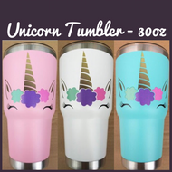 Unicorn Tumbler - 30oz