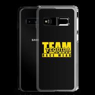 8. TEAM Tequila Race Wear Logo Samsung Case