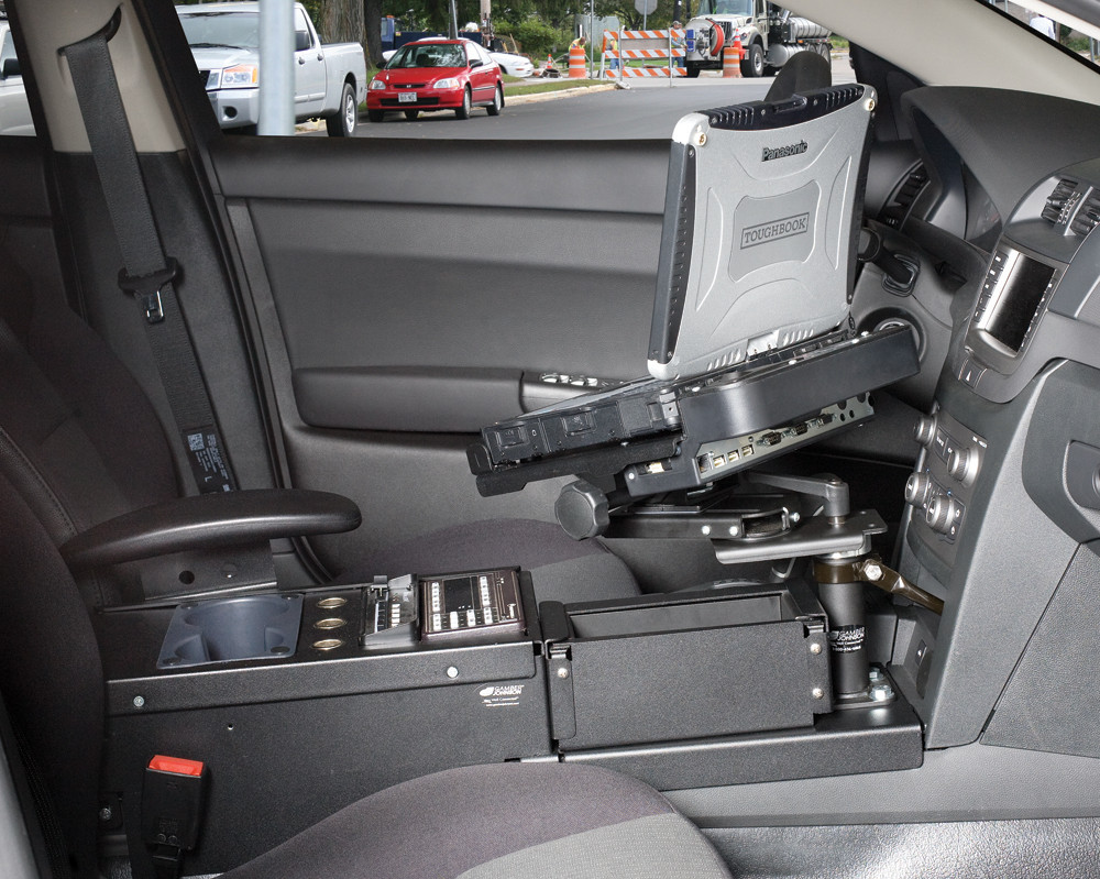 Chevy Caprice PPV Police Console Bracket 2011-2013