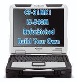 Panasonic Toughbook CF-31 MK1 i5-540M Refurbished Build Your Own