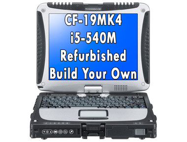 Panasonic Toughbook CF-19 MK4 i5-540M Refurbished Build Your Own