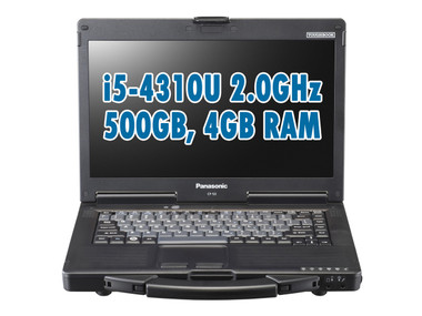 Panasonic Toughbook CF-53 Front View