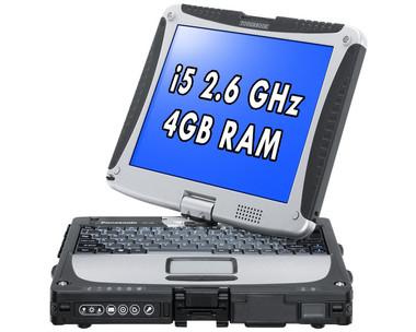 Panasonic Toughbook CF-19 Front View