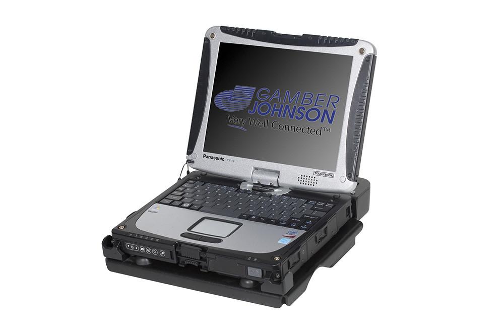 See Description Gamber Johnson 7160-0264-05 Panasonic Laptop Docking Station