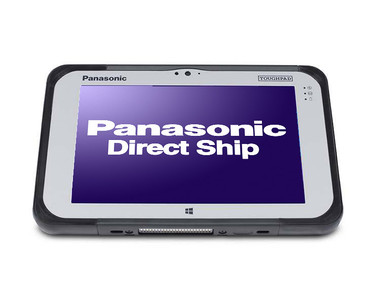 Panasonic Toughpad FZ-M1 front view