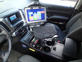 "Havis 2015-2020 Chevrolet Tahoe Police Pursuit Vehicle Specific 23"" Console C-VS-1013-TAH-1"