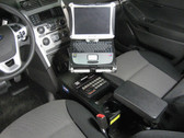 Havis 2013-2019 Ford Interceptor Utility & 2011-2019 Ford Explorer Retail Standard Passenger Side Mount PKG-PSM-153
