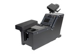 """Gamber Johnson Ford Police Interceptor Utility (2012+) console box with cup holder, armrest and 6"""" locking slide arm motion attachment 7170-0166-05"""