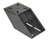 "Havis Heavy Duty Offset Angle Bracket, 3.5"" Offset, 45 Degrees C-HDM-410"