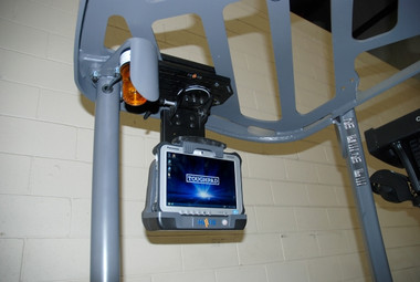 Havis Forklift Fixed Overhead Mounting Package for Convertible Laptop or Tablet C-MH-1001