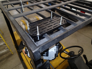 Havis Forklift Fixed Overhead Mounting Package for Compact Tablet Applications C-MH-1003