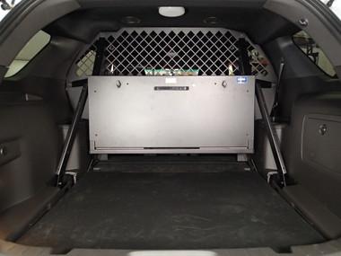 Havis Rear Upper Partition Option fits behind seat in 2013-2019 Interceptor Utility Vehicle C-SBX-902
