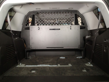 Havis Rear Upper Partition Option fits behind seat in 2015-2020 Chevrolet Tahoe C-SBX-903