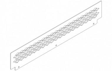Havis Full Width Trunk Tray Option for C-TTB-IMP-2 and C-TTB-CHGR-4 C-TTB-EG-04