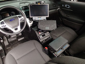 Havis 2013-2019 Ford Interceptor Utility police Vehicle specific Angled console C-VS-0800-INUT-1