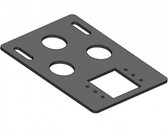 Havis E-Seek and Magtek Card Reader Bracket For Havis Docking Stations (Dell) DS-DA-225