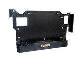 Havis IP65 Compliant Low Profile Fixed Docking Solution for Dell's Latitude 12 Rugged Tablet with 5V Powered Serial Port DS-DELL-705