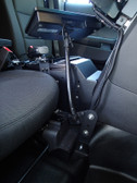 Havis Flex Arm Package including Flex Arm and Mount for 2013-2019 Ford Interceptor Utility and Retail Explorer PKG-FAM-104