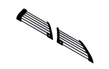 Gamber Johnson Ford Utility 2013+ Window Bars 7160-1075