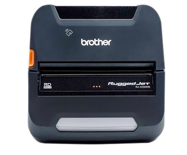 "Brother RuggedJet 4"" Thermal Printer RJ4250WBL"