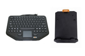 Havis Rugged Keyboard with Integrated Touchpad and Keyboard Mount System PKG-KB-208