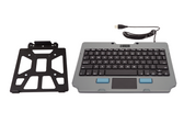 Gamber Johnson Kit: Rugged Lite Keyboard and Quick Release Keyboard Cradle 7170-0817-00
