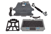 Gamber Johnson Kit: Samsung Galaxy Tab Active Pro Docking Station with Hand strap, Rugged Lite Keyboard, and Quick Release Keyboard Cradle 7170-0698-00