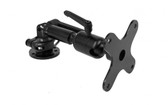 """Gamber Johnson Multi-Function Pivot Mount, 2"""" Extension, VESA 75mm Mounting Plate with Back Plate 7160-1385-01"""