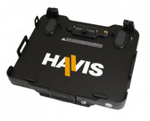 Havis Docking Station with Dual Pass-Through Antenna connection for Panasonic Toughbook 20, 2-in-1 Laptop DS-PAN-1011-2