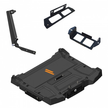 Havis Dock for Getac S410 w Tri-RF Power supply, Mounting Bracket & Screen Support PKG-DS-GTC-619-3