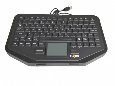 Havis Rugged Keyboard with Integrated Touchpad KB-106